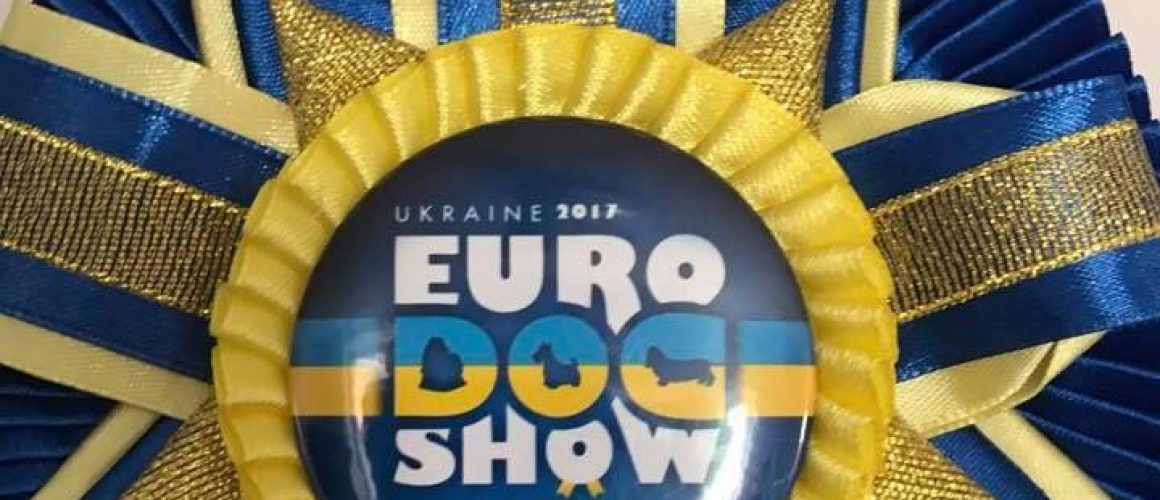 """Gina"" Jr.Europen Winner & BOS in Kiev !!🏆🐶😍"