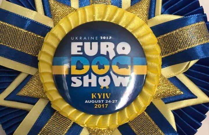 """Gina"" Jr.Europen Winner & BOS in Kiev !!🏆🐶😍"